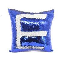 14 Stil Mermaid Yastık Kapak Pullu Yastık Kapak Süblimasyon Yastık Atmak Yastık Dekoratif Yastık Kılıfı Renk Owe7147