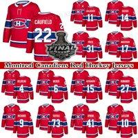 Montreal Canadiens Jersey 22 Cole Cole Cola 14 Nick Suzuki 31 Carey Preço 73 Tyler Toffoli 11 Brendan Gallagher 27 Romanov Red Hockey Jerseys