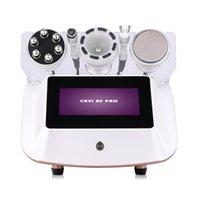 5 In 1 Vacuum Cavitation Radio Frequency Multipolar RF BIO Ultrasonic Liposuction Slimming Machine