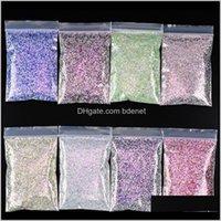 1 KG / Çanta Altıgen Şekli Tıknaz Çivi Tırnak Dekorasyon Glitter FacePaint Vücut Sanatı Makyaj Tumblers Craft Accessoires DPGCZ KWh2P