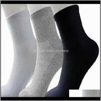 Mens Underwear Apparel Drop Delivery 2021 Men Athletic Sport Basketball Long Cotton Male Spring Summer Running Cool Soild Mesh Socks For All