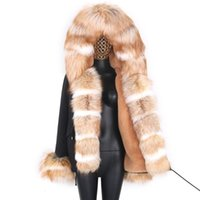 Pelliccia femminile Faux levelches Giacca invernale Donna Real Collar Short Parka Slim Slim Cappotto Donna Outwear Outwear