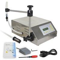 Máquina de enchimento líquido de bomba de controle digital manual e máquina de vedação líquida (3-3000ml) suco de leite de vinho de óleo