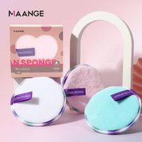 Sponges, Applicators & Cotton 3 2Pcs Makeup Remover Puff Double-sided Soft Clean Washing Face Cloth Quick Make-up Removal No Stimulation Too