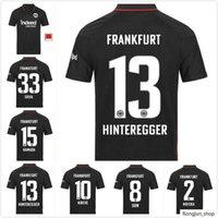 21 22 22 Eintracht Frankfurt Soccer Jerseys Silva Costa 2021 2022 Home Dost Sow Kostic Hinteregger Kamada Men Kit Kit Kit Camicie da calcio