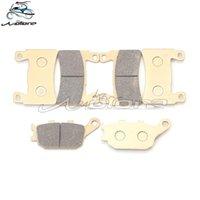 Motorcykelbromsar fram bakre bromsbelägg för CBR600RR F5 2003-2004 03 04 CB1100 2010-2021 VTEC CB400 2004-2010