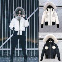 Женский пиджак Parkas сохраняют теплые и ветрозащитные белые утки верхняя одежда на верхней одежде, чтобы противостоять холодным зимним пальто плюшевых воротников высокого качества пальто