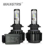 MAXGTRS H4 HI / LO H7 H8 H8 H1 H11 9006 Phare LED de voiture 9005 HB3 HB4 H1 H13 880 881 Ampoules HAUT POWER POWER BLANCHE 6000K Remplacer la lampe