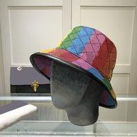 Luxurys Designer Eimer Hut Outdoor Travel Herren- und Damen Freizeitmode Sun-Hüte mit Windripe Fisherman's Cap 3styles sehr gut