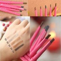 1pcs Longlasting Eyebrow Pencil Natural Waterproof Rotating Automatic Eye Brow-Pencil Cosmetic Eyebrow Shaping Liner Pen