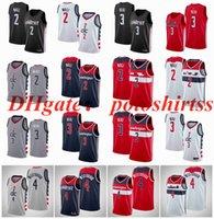 Cosidas grandes yardas S-6XL 4 Westbrook Basketball Jerseys Red White Bradley 3 Beal John 2 Wall Jersey Fans Camisa Chaleco NCAA MENS Edition City