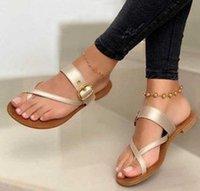 Sandals Slippers Slides Flip Thong Flat Shoes Woman Beach Sexy Women Summer Plus Size Sandalias Mujer Sapato Feminino SF0174