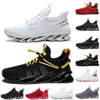 Bonne qualité non-marque hommes femmes chaussures chaussures lame glisser sur triple noire blanc blanc tout rouge gris de la terre guerriers Hommes Gym entraîneurs de sport en plein air Sneakers