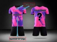 19 20 customize Pairs city soccer jersey pink 2019 2020 camisetas de futbol Maillots football shirt men kit
