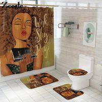 Bath Mats Zeegle Mat For Toilet Seat Cover Bathroom Anti-slip Carpet Absorbent Rug Microfiber Washable Set