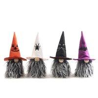 Parti Malzemeleri Cadılar Bayramı Dekorasyon Yüzsüz Bebek Kabak Yarasa Gnome Çocuk Oyuncak Hediye Korku Tatil Sahne Masa Süsleri XBJK2107