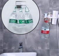 Montaggio a parete Organizzatore Asciugacapelli Asciugacapelli Deposito Toilette Articoli per la casa Articoli per la casa Asciugacapelli Rack Forte Sucker Shelf 1927 V2