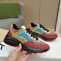Yeni Deri Sneaker Erkek Kadın Ayakkabı Çilek Dalga Ağız ile Kaplan Web Baskı Vintage Eğitmen Adam Kadın Ayakkabı Rahat Ayakkabılar 20