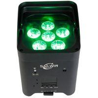China Sailwin 6x18W 6in1 RGBAW + UV Аккумуляторная батарея Uplightapp Mobile Led Paright Stage Использование для свадьбы
