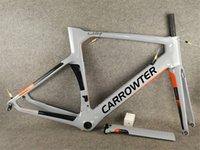 BB386 T1000 Carrat Kavramı Karbon Yol Bisikleti Çerçeveleri UD Parlak Doğrudan Dağı Disk Frenler Bisiklet Frameset C64 V3RS