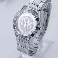 럭셔리 남성과 여성 시계 디자이너 브랜드 시계 Marque Luxe, TVK, DContracte, 스포츠, 석영, Mo, Tout En Acier, Horloge Couple,