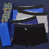 Moda stile Mens AD Panties Underpants Boxer Biancheria intima in cotone Uomo Traspirante solido Pantaloncini flessibili Boxer