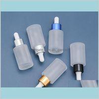 Ambalaj ofis okul iş endüstriyel 30 ml küçük boş cam petrol göz damlalık şişeleri için doldurulabilir şişe metal vida ağız