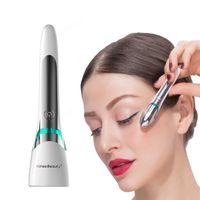 EMS電気振動アイフェイスマッサージャアンチエイジングのしわダークサークルペンの取り外し若返りの目の美しさの携帯用ペン