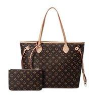 Высококачественные дизайнеры Кожаные сумки Женщины Сумки на плечо с кошелькой женской матерью Пакет составной сумки Кошелек Леди сумки 2 шт. / Набор N51106 M40157