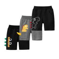 Mignon d'été enfants shorts en plein air coton pour garçons toddler culoteuses enfants plage courtes pantalons de sport occasionnels adolescents