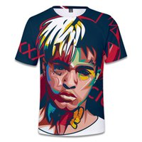 XXXItation American Rapper 3D Full Screeny Atmungsaktives kurzarmes T-Shirt