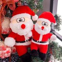 Plüschspielzeug 40 cm Santa Claus Weihnachtsgeschenk Plushtoy Puppe Weibliche Geburtstagsgeschenke