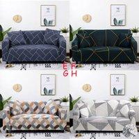 Coperture di divano multi-stile Set Stampa Stampa Elastic Angolo Cover Cover per Soggiorno Decorazione per la casa Assemblare Slipcover