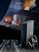 Radyatör PS4 PRO PS4Slim Konsolu Şarj Cihazı Dikey Soğutma Standı Kontrol Cihazı Şarj Baz 2 Soğutucu 10 Oyunlar Depolama Sony Playstation 4