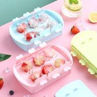 DIY Kendinden Yapılmış Dondurma Kar Kek Kalıpları Mutfak Araçları Karikatür Sevimli Stick Kek Popsicle Kalıp Ev Yapımı Aracı FWB8844
