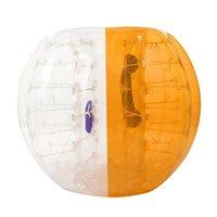 Zorb Soccer Bubble Buy Football Zorbing Ball نفخ Bouncers جودة واضحة جودة معتمدة 1.2 متر 1.5 متر 1.8m التوصيل المجاني