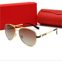 2021 Luxus Designer Trends Sonnenbrillen für Männer und Frauen Full Frame UV Schutzbrille Sportfahren Strand Mode Party Favors Fall mit Kasten