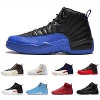 12 XII 12S Sapatos de Basquete Universidade Ginásio azul Ginásio Vermelho Cinza Faculdade de Faculdade Marinha Esportes Sneakers Chaussures 40-47