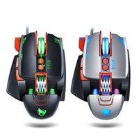 Mices Mouse Thunder Wolf V9 لعبة E-Sports الميكانيكية ماكرو تعريف LOL EAK