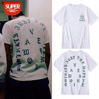 Я чувствую себя как Pablo с коротким рукавом Лос-Анджелес Limited Kanye West Mens и женская футболка красоты # KL1Y