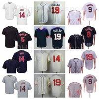 1902 1974 1976 1993 1995 Урожай бейсбол 14 Larry Doby Jersey 9 Carlos Baerga 5 Lou Boudreau 19 Fuller 21 Bob Лимон