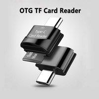 USB Type C OTG TF Lettore di schede Lettore di schede Micro Adattatore Supporto 512 GB Memoria per Smartphone Laptop Connector