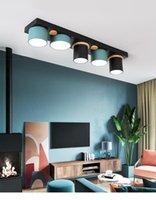 أضواء السقف الحديثة الثريا الصمام لوحة luminaria السرير الألومنيوم غرفة المعيشة مصباح