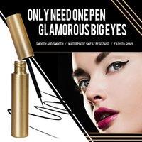 Eyeliner Secado rápido Lápiz magnético Libre de pegamento libre de pegamento Free para pestañas a prueba de agua Liner del forro de ojos Belleza duradera