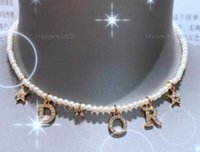 الهيب هوب تنس قلادة بلينغ أبيض الزركون سلاسل مجوهرات رجالي المرأة أزياء 5 ملليمتر الفضة الذهب سلسلة القلائدDior necklace