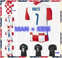 Perisic Medric Rakitic Brozovic Mandzukic Soccer Jersey 2021 فريق National Team Men و Kids Shirss الفانيلة