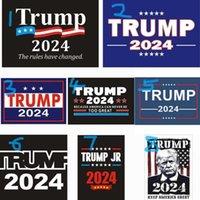 2024 الولايات المتحدة الحملة الرئاسية ترامب سلسلة ملصقات ملصقات السيارات الملونة ملصقات ملصقات ملصقات ملصقات من السهل حملها