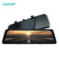 Dual Cameras HD Tachography IDR 1920 * 1080 Автомобильный видеорегистратор TASH CAMERA Видеорегистратор Tachograps TouchScreen Зеркало заднего вида Автомобили DVR