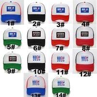 New Party Hats Joe Biden's Kampania prezydencka Netted Czapki z baseballami z poliestru przeciwsłonecznej dla mężczyzn i kobiet