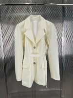 Women's Suits & Blazers The Early Autumn 2021 Fake Two Jackets 0812